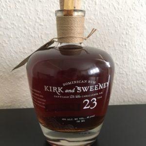 Kirk and Sweeney 23 års i flot flaske