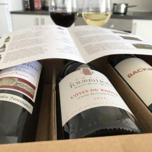 Vinboxen - 3 flasker god vin hver måned