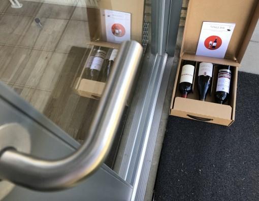 Vinboxen leveret til døren