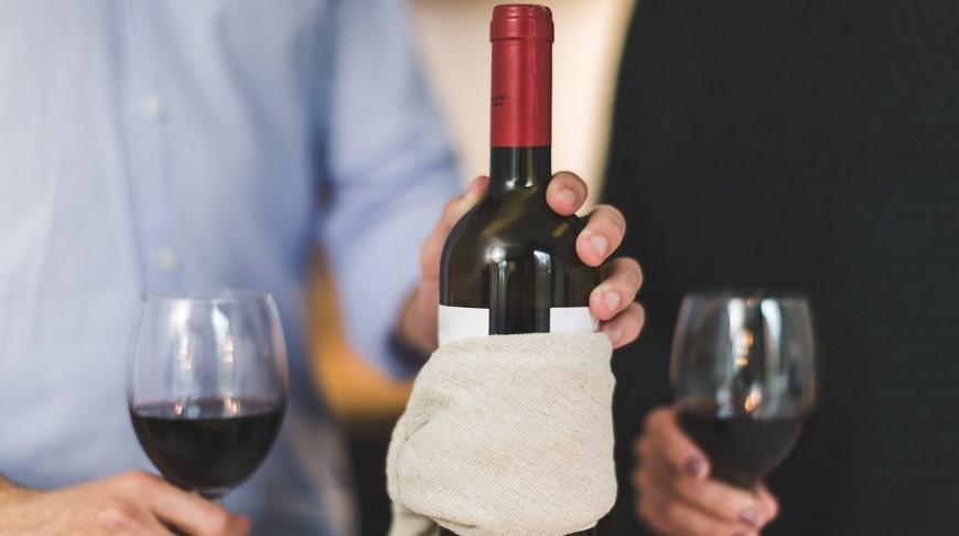 Blindsmagning af vin