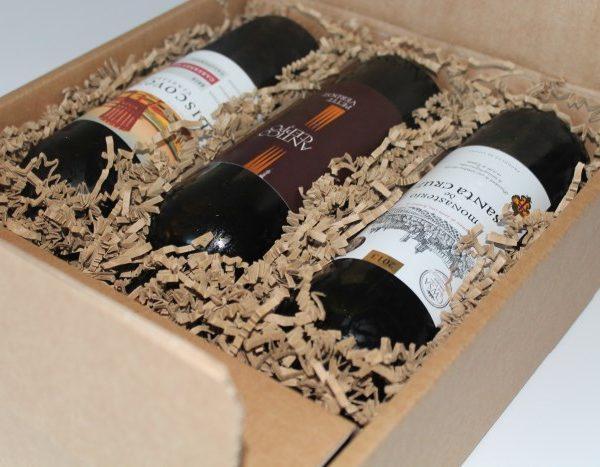 Vingave med 3 gode vin