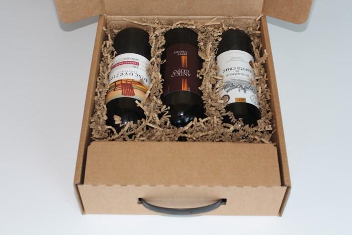 Firmagaver med rødvin