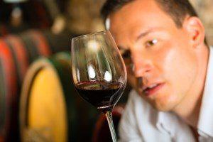 Fyldig rødvin