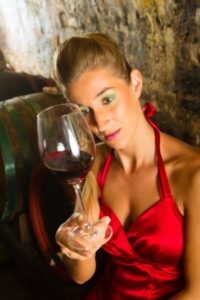 Kraftig rødvin