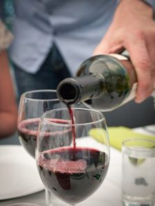 Middelfyldig rødvin