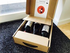 Levering af vin hver 2. og 3. måned