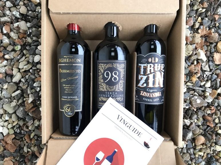 Italiensk Vinbox November 2017