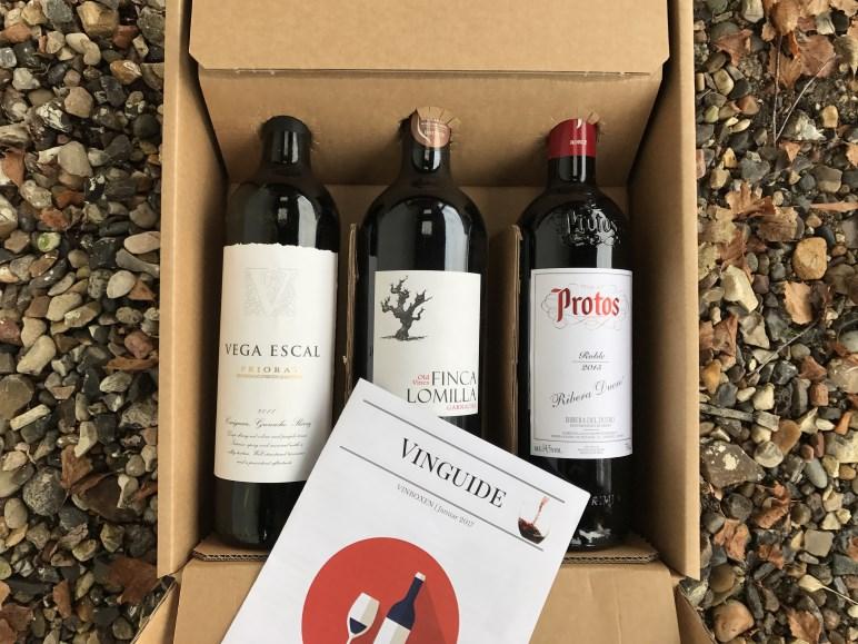 Spansk Vinbox November 2017