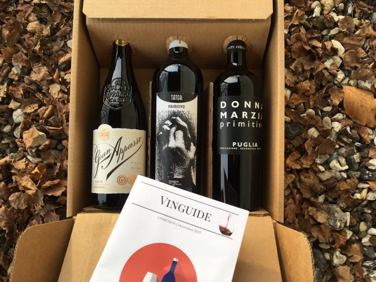 Italiensk Vinbox December 2017