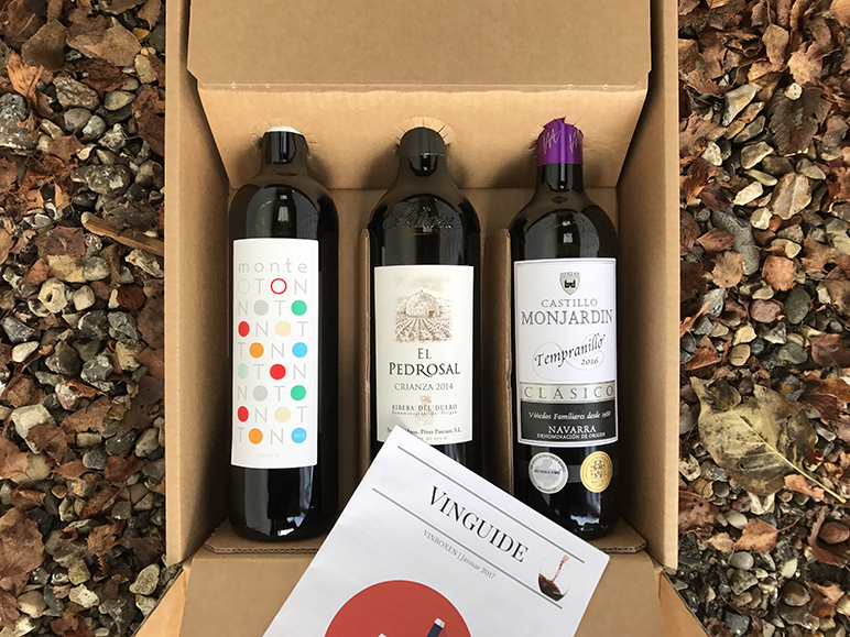 Spansk Vinbox December 2017
